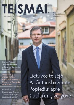 TEISMAI - Nr. 3 (23), Spalis 2016