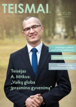 TEISMAI - Nr. 1 (25), Gegužė 2017