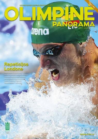 OLIMPINĖ PANORAMA - Gegužė Nr. 5 (81) 2016