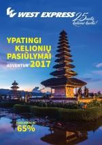 WEST EXPRESS - Ypatingi kelionių pasiūlimai 2017