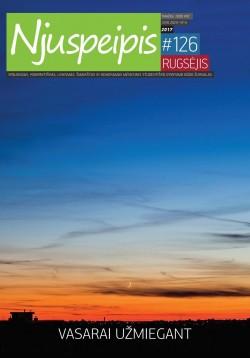 NJUSPEIPIS - Nr. 126, Rugsėjis 2017
