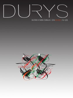 DURYS - Nr.4 (28), Balandis 2016