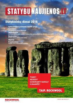 STATYBUNAUJIENOS.LT - 3 (9), 2016