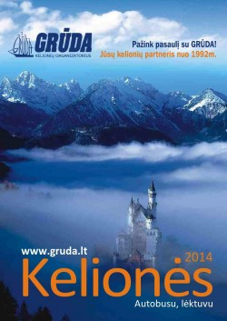 GRŪDA - Kelionės 2014